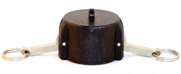 Cam-Lock Blindkappe (Mutterteil)
