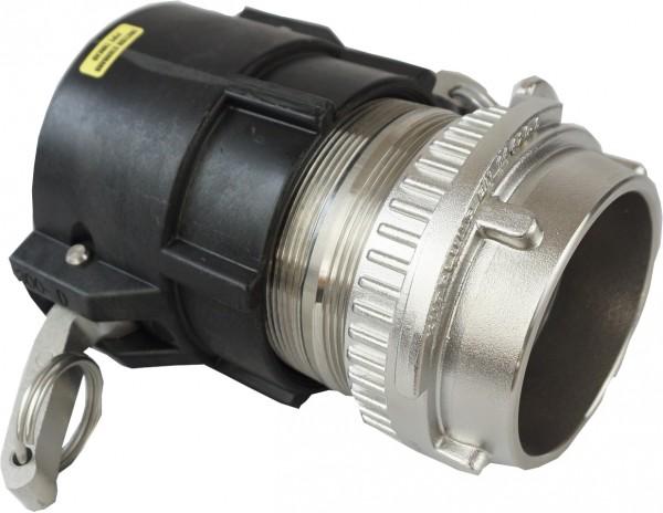Kupplungsstück Tankwagenkupplung und Cam-Lock Kupplung