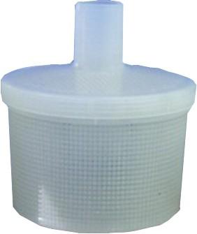 Filter mit Schlauchanschluss