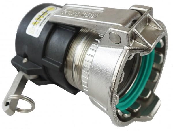 Adapter Tankwagenkupplung MK-Teil und Cam-Lock-Kupplung Mutterteil
