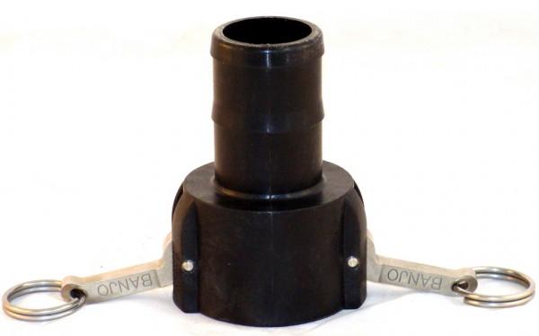 Cam-Lock Mutterteil mit Schlauchtülle