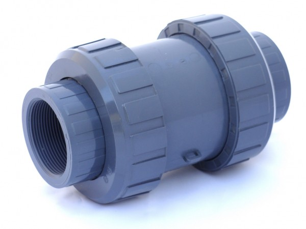Kegel-Rückschlagventil S 4 mit Innengewinde in PVC