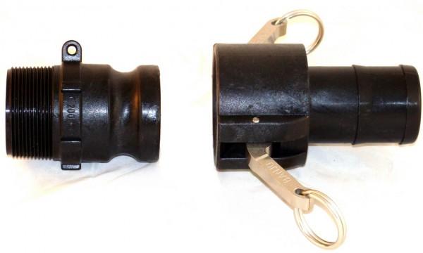 Cam-Lock Kupplung Komplettset